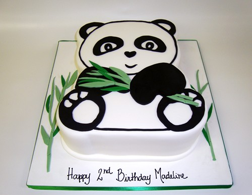Cute Panda Birthday Cake Inspiration for a cake really