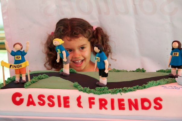 Cassie and Friends Cake