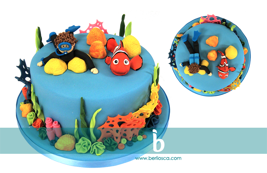 Thomas & Nemo Under the Sea Cake