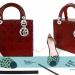 lady dior red bag copy thumbnail