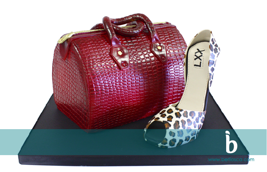 red tote bag and leopard print heel copy